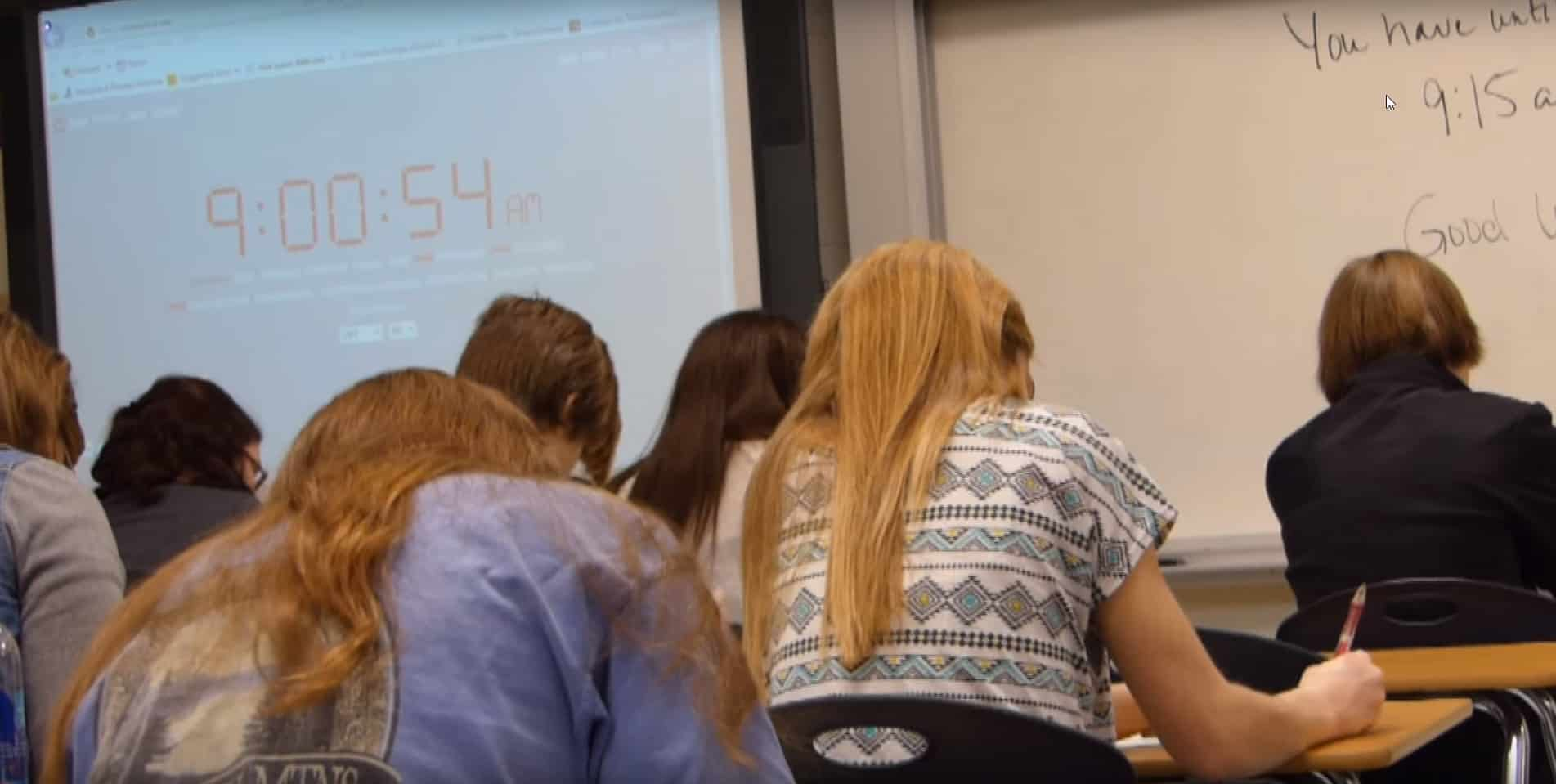 salle de classe aux USA