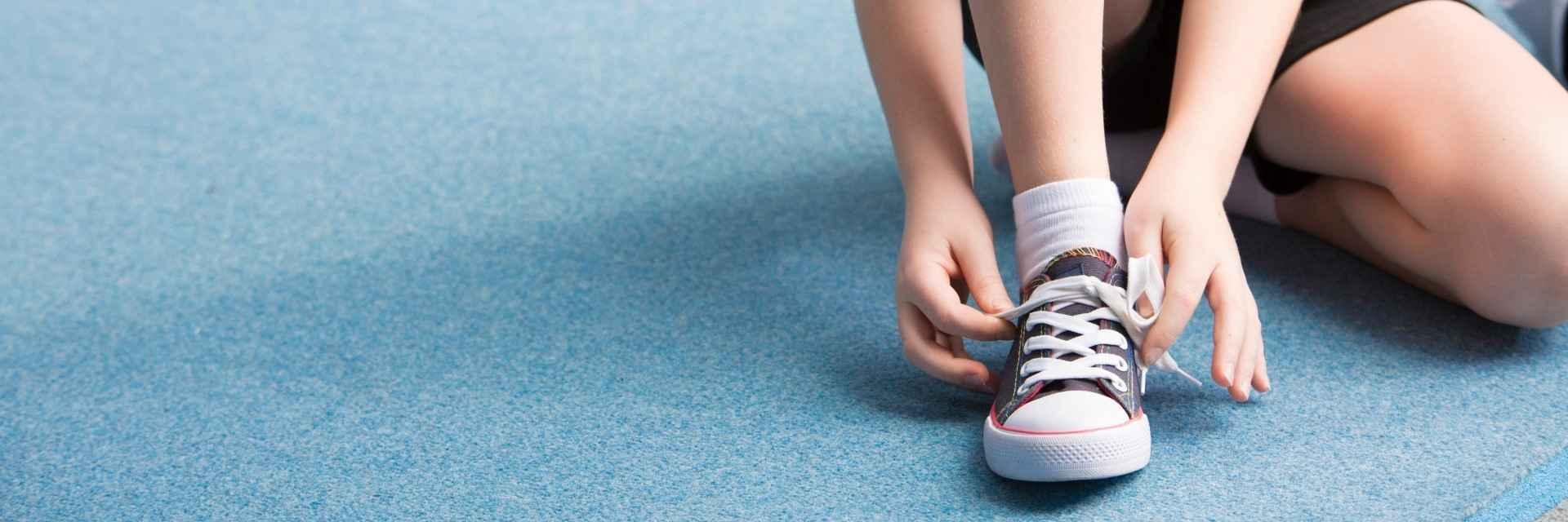 chaussure enfant pour l'été